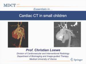 Cardiac CT in small children