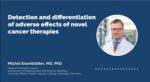 Detection and differentiation of the adverse effects of novel cancer therapies (Oncologic CT imaging Series – Ep. 3)
